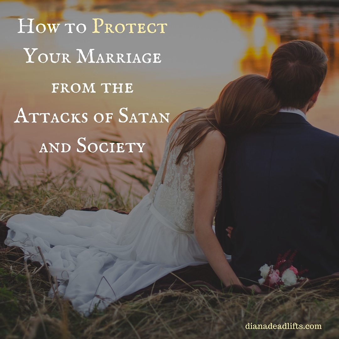 How to Protect Your Marriage from Satan and Society by Diana Anderson-Tyler