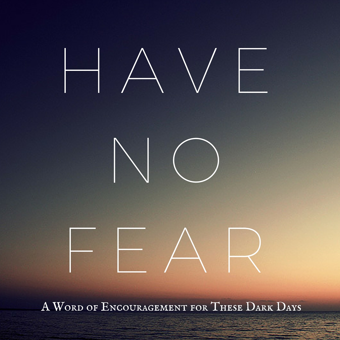 Have No Fear: A Word of Encouragement for These Dark Days by Diana Anderson-Tyler