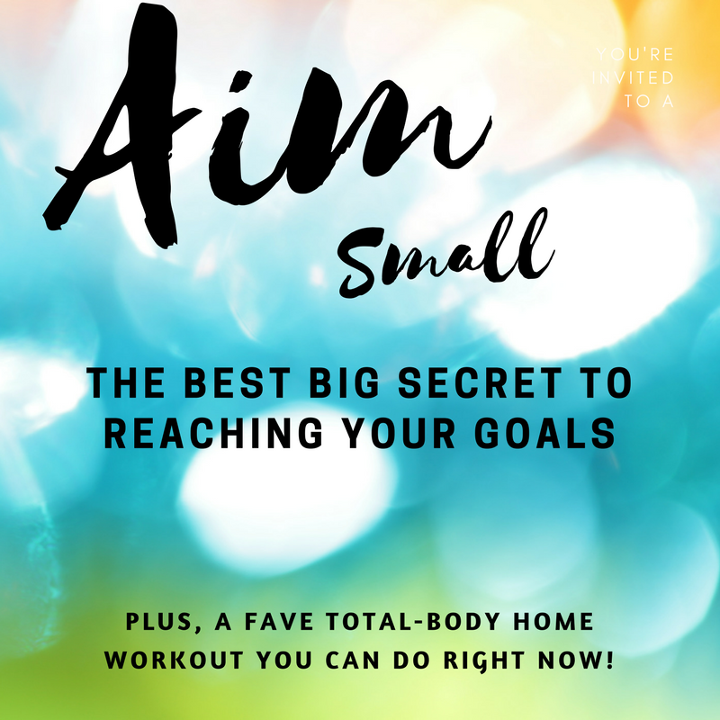 The Best Big Secret to Reaching Your Goals
